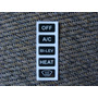 Kit Adesivo Ar Cond  Translucido  Gol/parati Quadrado