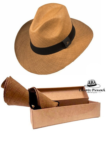 3053b82f56b5e Chapéu Panamá Indiana Semi-fino Feminino Original
