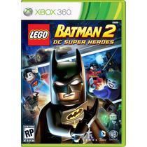 Xbox 360 Lego Batman 2 Dc Super Heroes Lacrado Mídia Física