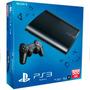 Ps3 Super Slim Playstation 500gb + 68 Jogos Super Incríveis