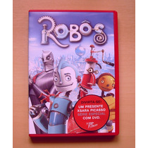 Dvd Robôs Filme De Animação Infantil De 2005