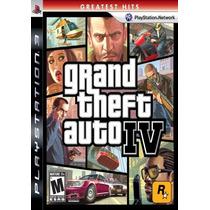 Gta 4 Grand Theft Auto Iv Jogo Ps3 Sdgames Garantia