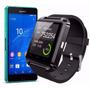 Celular Relógio Smarth De Pulso Wf U8 Bluetooth