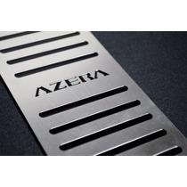 Descanço De Pé Em Aço Inox Hyundai Azera 2013 A 2016