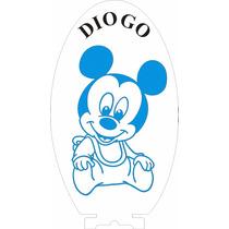 Luminária Automática De Tomada, Baby Mickey Personalizado *