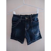 Shorts Jeans Infantil Menina Para 4 A 6 Anos Usado