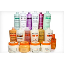 Kit Shampoo Kerastase 1 Litro + Máscara 500g Todas As Linhas