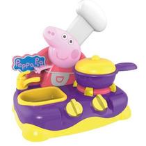 Peppa Pig Cozinha Eletrônica Menina Presente Criança Natal