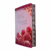 Bíblia Sagrada Feminina Evangélica Letra Gigante Com Índice