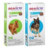 Combo 2 Bravecto 1) 10 A 20 Kg + 1) 20 A 40 Kg Original