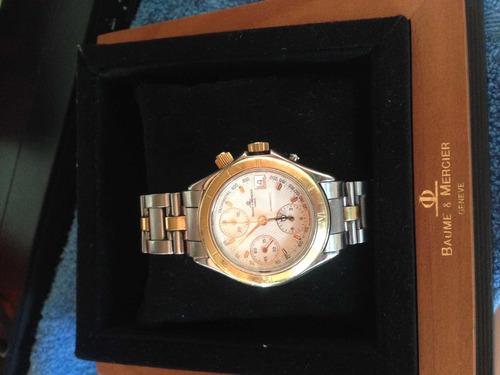 16ee383766c Relógio Ouro Baume   Mercier Geneve Original Ouro E Aço - R  5000 en ...
