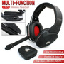 Headset Wireless Fone Ouvido 2.4ghz Xbox One 360 Ps3 Ps4 Pc