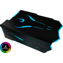 Cover De Fonte Rise Mode Dragon Preto Rgb Mb Rm-cf-02-dr