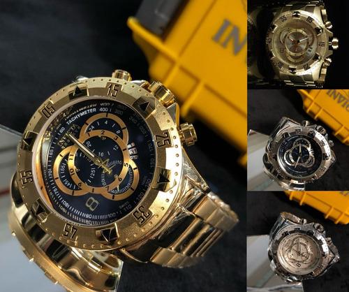 b7e88b9ad30 Relógio Masculino De Luxo Várias Cores + Caixa Frete Grátis