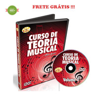Curso Dvd Video Aula De Teoria Musical Alan Gomes Vol. 1