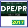 Dpe Pr Paraná Defensor Público 2017 Vídeo + Apostilas Gdrive