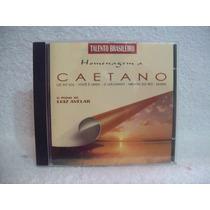 Cd Luiz Avelar- Homenagem A Caetano- O Piano De Luiz Avelar