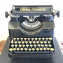 Máquina De Escrever Orga Private 100% Original