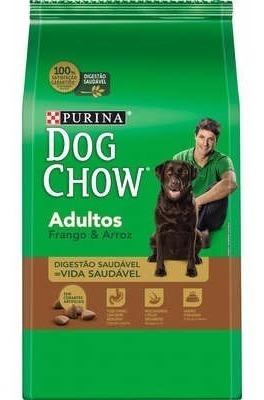 Dog Chow Adultos Frango E Arroz Ração Nestlé Purina 15kg