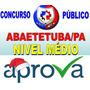 Prefeitura Abaetetuba/pa Diversos Cargos 2016 Aprova