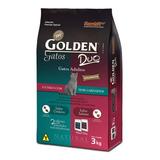 Ração Golden Duo Premium Especial Gato Adulto Cordeiro/salmão 3kg