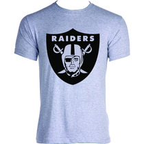 Camisa Camiseta Personalizada Raiders Los Angeles New York