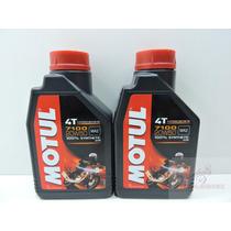 Oleo Motul 7100 20w 50 Sintético 2 Litros