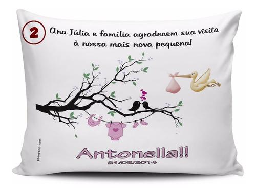cd55d2da23ddc6 20 Almofadas Personalizadas Para Maternidade Chá Bebe à venda em ...