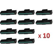 Kit 10 Toner Samsung Mlt-d101s Compatível Ml-2160 Ml-2165