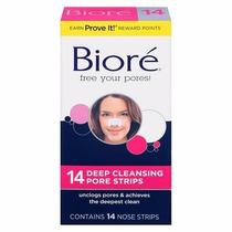 Biore C/ Pore Strips 14 Adesivos Removedor Cravo No Nariz