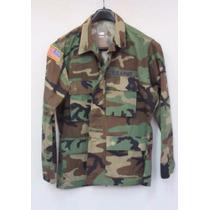 Camisa Militar Americana - Camufada - Medium-short