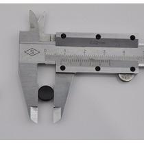 Par Brinco De Pressão Magnético Imã Preto 10mm 1cm