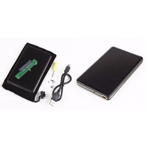 Case Com Hd Externo De 320 Gb - De Bolso - Compacto