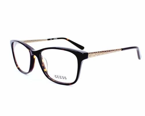 c1f7a2528 Armação De Óculos De Grau Guess Feminino - Gu2500 052
