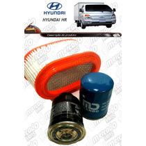 Filtros Hyundai Hr (ar + Óleo + Combustível) 100% Qualidade