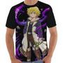 Camiseta/camisa  Os 7 Pecados Capitais - Anime Meliodas Original