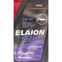 Oleo Elaion 5w40 F50 100% Sintetico Api Sn Kit C/ 04
