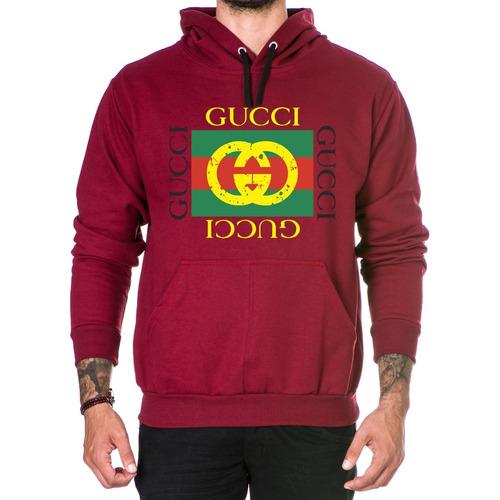 Blusa De Moletom Casaco Blusa De Frio Marca Top Gucci Mod 2 9975bd336c7c7