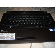 Carcaça Base Completa Noteboook Itautec W7425 Com Teclado