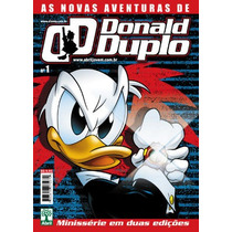 As Novas Aventuras Donald Duplo Nº 01 - Novo - Cx037