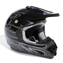 Capacete Motocross Off Road Em Fibra De Carbono (zero9)
