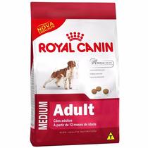 Ração Royal Canin Medium Adult Para Cães De Raças Médias 15k