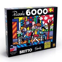 Quebra-cabeça Romero Britto Family 6000 Peças - Grow