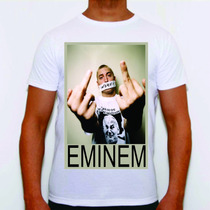 Camisa Eminem Personalizada Lose Yourself D12 8mile 2pac Alg