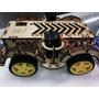 Chassis Mdf Robo / Robotica / Smart Car 4 Motores E Rodas