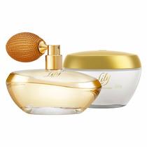 O Boticário Kit Lily Perfume + Creme Hidratante Essence