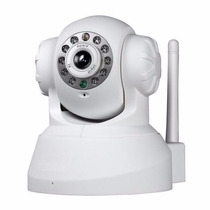 Camera Ip Wireless Visao Noturna Sensor Presença E Movimento