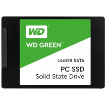 Hd Ssd Wd Green 120gb 2.5 7mm Pronta Entrega 517