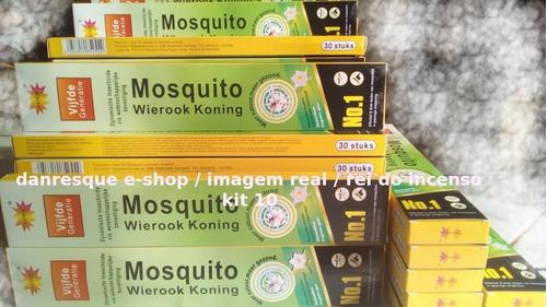 Incenso 10caixas0,15mata Mosquito Pernilongo Inseto Promoção