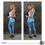 Calça Jeans Feminino Estampada Marca On Line Jeans